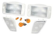 1997-2006 Jeep Wrangler & Unlimited Clear Corner & Turn Signal Lens Kit RT28015