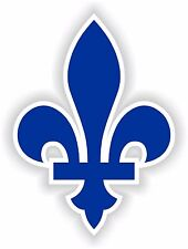 1x Quebec Fleur de Lys Canada vinyl sticker decal autocollant auto car laptop