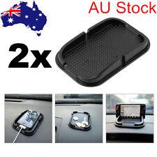 2x Car Dashboard Anti Slip Grip Smartphone Coin Key GPS Gadget Sticky Holder Mat