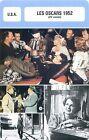 FICHE CINEMA USA LES OSCARS 1952 (25-e année)