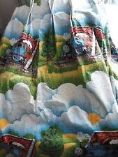 One pair THOMAS THE TANK ENGINE BLACKOUT Lined curtains