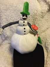 """New Nightmare Before Christmas Jack Skellington Animated Snowman """"Snow Jack"""" Nbc"""