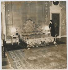 Italia, Roma, Grand Hôtel Vintage silver print,Pronto l' appartamento per