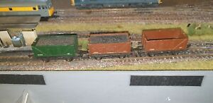 Triang Wagons Rake Of 3 Unboxed