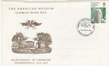 Gb :1975 American Independence - Official Claverton Manor Fdc-Bath