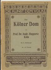 La colonia dom 1925 Prof. Dr. huppertz arte al pueblo nr 31
