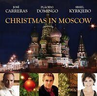 JOSE/DOMINGO,PLACIDO/KIRKJEBO,SISSEL CARRERAS - A CHRISTMAS CONCERT  CD NEW+