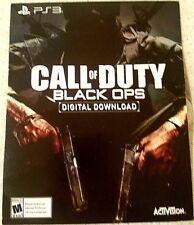 PS3 CALL OF DUTY BLACK OPS PLAYSTATION 3 DOWNLOAD CARD / FULL GAME / DLC (NEW)