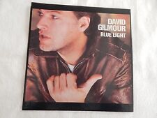 """David Gilmour """"Blue Light"""" PICTURE SLEEVE! MINT! PERFECT!!"""