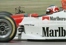 Jan Magnussen Hand Signed McLaren F1 12x8 Photo 1.