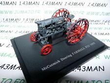 Tracteur 1/43 universal Hobbies n° 131 McCORMICK Deering Farmall F12 1935