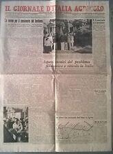 IL GIORNALE D'ITALIA AGRICOLO ANNO 1942 LE NORME DEL CENSIMENTO DEL BESTIAME 569