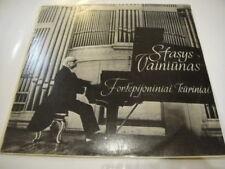 S. Vainiunas - piano, Vainiunas: Piano Compositions LITHUANIAN Composer LP