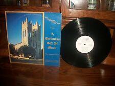 A Christmas Gift Of Music-Methodist-Fort Worth-Chancel Choir-Record Album LP