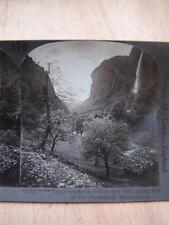 Stereoscope Photograph Lauterbrunnen Valley  Switzerland