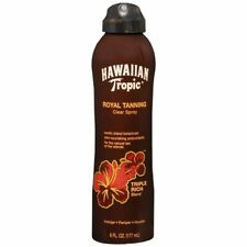 Hawaiian Tropic Royal Tanning Clear Spray - 6 OZ