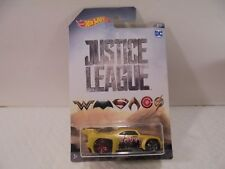Hot Wheels DC Justice League Bassline Diecast Car 7/7 Collectible