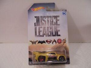 Hot Wheels DC Justice League Bassline Diecast Car 7/7 Collectible