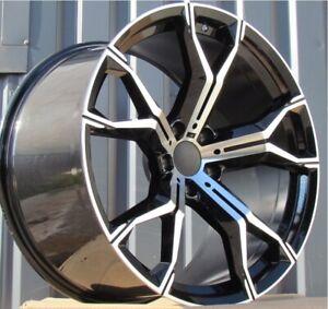 22 inch 4 Alloy wheels fit BMW X5 X6 X7 G05 G06 G07 741 style 5x112 New 4 rims