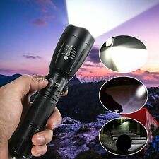 2000LM Military Grade Tactical Flashlight Torch LED Gladiator T2000 XT808