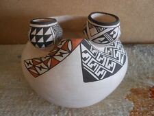 ROSE CHINO GARCIA Acoma Pueblo Native American Indian Pottery Bowl Southwest