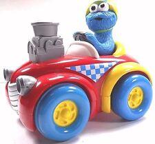 Sesame Street Tyco 1998 Cookie Monster Hot Rod Racer Push N Go Jim Hensen