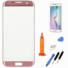 Rose Gold Replacement Screen Glass Repair Tools For Samsung Galaxy S7 Edge
