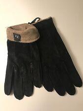 Eleganzza Genuine Leather Men's Gloves Black 9