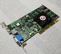 ATI Radeon R6 DDRF 1027070500 VGA AGP SD64MB Graphics Card GPU - Vintage