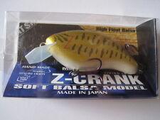 Megabass ito New Z-CRANK FLAT SIDE SMALL MOUTH BASS color NIP !! Z CRANK