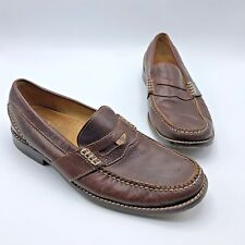 ed86a448ec9 Sperry Top Sider Gold Cup Collection Men Brown Leather Boat Shoe SZ 9M Pre  Owned