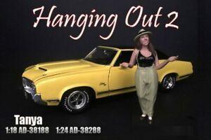 TANYA FIGURE AMERICAN DIORAMA 38188 1/18 DIECAST CAR