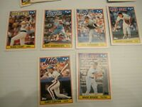 1988 Topps UK Mini Baseball Cards (Lot 31 cards) Many Players Boggs,Yount & More