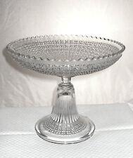 Coupe sur pied compotier cristal Val St-Lambert 1930 Antique crystal cup