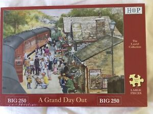 Brand New Sealed, Big 250 Large pcs Jigsaw A Grand Day Out House Of Puzzles HOP