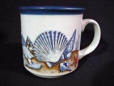 Vintage Seashells Coffee Mug Treasure Trove on Sea Bottom Floor