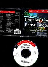 SONGS OF CHARLES IVES & ERNST BACON. BOATRIGHT-1954/64.  CRI 1994. RARE CD  VG+