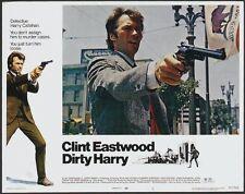 DIRTY HARRY * CineMasterpieces ORIGINAL MOVIE POSTER LOBBY CARD SET 1971