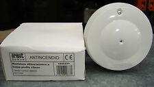 URMET 1043/231 rivelatore ottico fumo + termico fisso (può sostituire 1043/221)