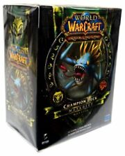 New Sealed World of Warcraft Murkdeep Champion Deck Murloc Monster WoW Tcg Ccg