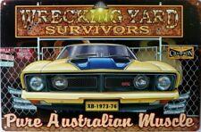 WRECKING YARD SURVIVORS  XB GT 1973-76 Auto Memorabilia Metal Sign