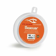Seaguar Sts Salmon Fluorocarbon Leader Fishing Line 20-Pound/100-Yard Clear