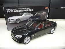 1:18 KYOSHO BMW 7 lui f04 760 ACTIVE HYBRID NERO NUOVO NEW