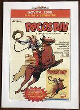 Pecos Bill - Volantino Pubblicitario - Editoriale . Mercury 2008