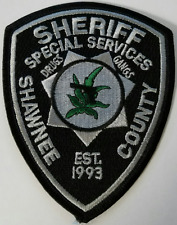 Shawnee County Sheriff Special Services Cloth Patch