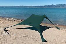 Shades X-Large Beach Shelter Green | Sun Shade