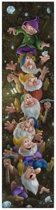 Disney Fine Art Limited Edition Canvas Climbin' For Diamonds-Dwarfs-Jared Franco