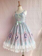 Cosplay Lolita Vinatage Elegant Lace JSK Princess Dress  (Mint Green)