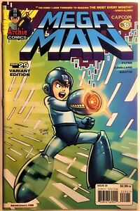 MEGA MAN COMIC BOOK #29 Variant CURSE OF RA MOON Pt 1 November 2013 Bagged NM++