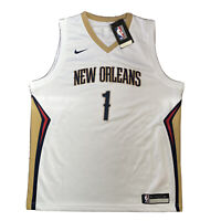 Nike NBA New Orleans Pelicans Jersey #1 WILLIAMSON Youth XL Women's 18/20 BNWT